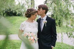 Bryllupet til Mari og Alexander i Porsgrunn
