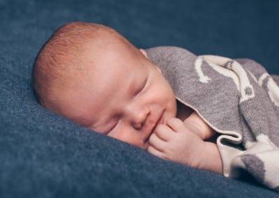 Fotografering av nyfødt baby