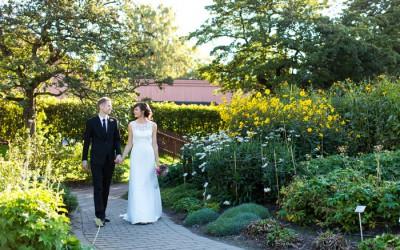 Bryllupet til Ingeborg og Svein Olav i Oslo